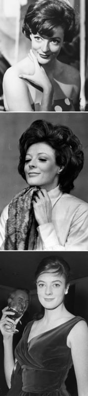 10. Young Maggie Smith in the 60s and 70s