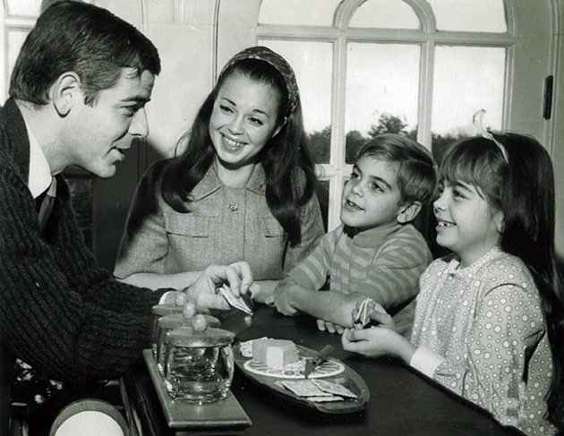 7-year-old- George Clooney in 1968