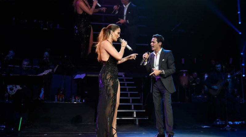 Jennifer Lopez and Marc Anthony-nyc-concert