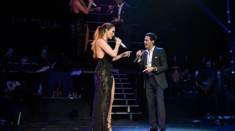 Jennifer Lopez and Marc Anthony-nyc-concert