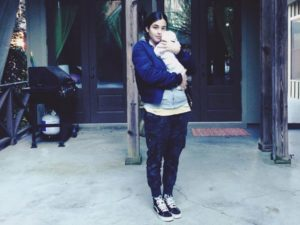 Alanna Masterson baby