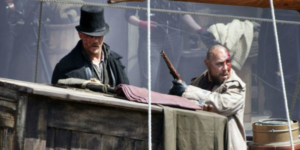 "Tom Hardy in ""Taboo"""