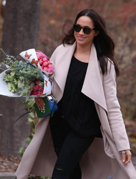 Meghan Markle in Public with Prince Harry's Necklace