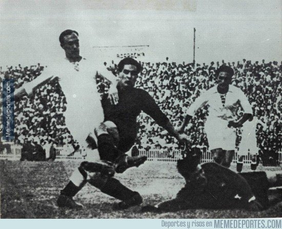 Real Madrid 6-6 Barcelona. May 13, 1916