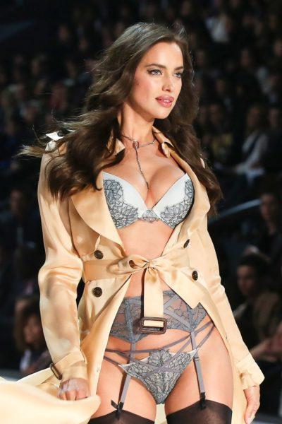 Irina Shayk Victoria's Secret show in Paris