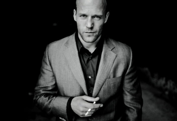2. Statham was into modeling, before acting