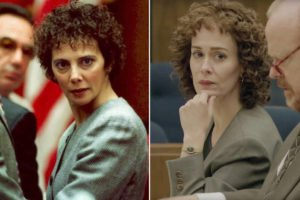 Sarah Paulson in the role of Marcia Clark