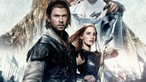 Jessica Chastain and Chris Hemsworth in The Huntsman: Winter's War