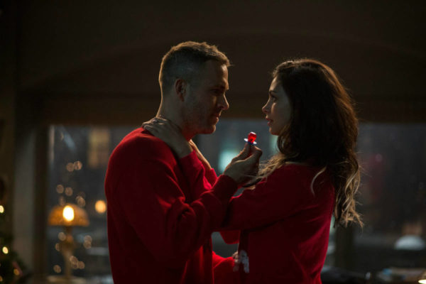 Morena Baccarin and Ryan Reynolds in Deadpool