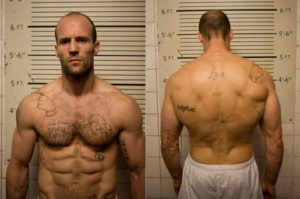 His role in Death Race put him through tough training and diet