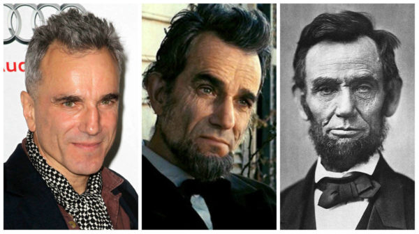 Daniel Day – Lewis in  the role of Abraham Lincoln