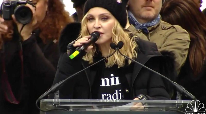Madonna's speech on Women's March