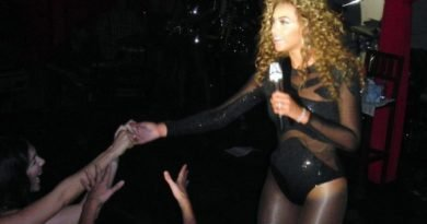 Queen B preformed for the son of Moammar Gadhafi