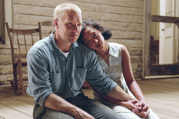 Ruth Negga and Joel Edgerton in Loving