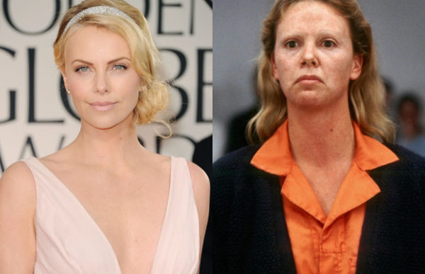 Charlize Theron in the movie monster