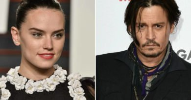 Johnny Depp and Daisy Ridley