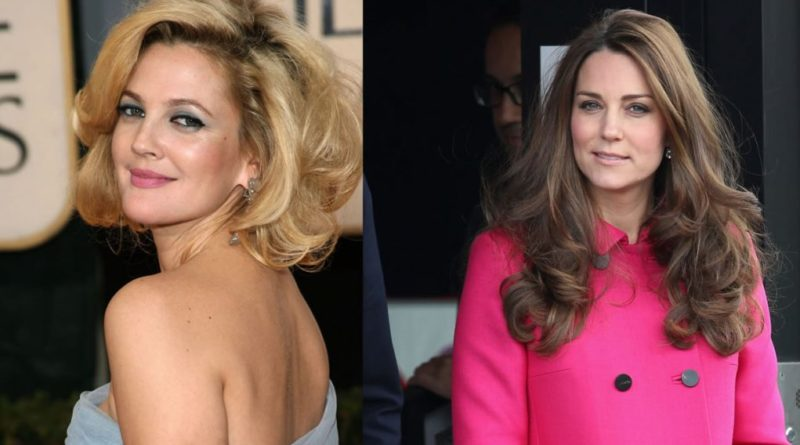 Drew Barrymore says she'd prefer to be with Kate Middleton