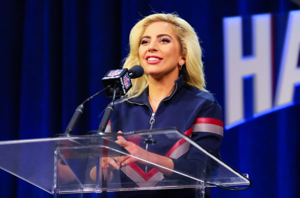 NFL: FEB 02 Lady Gaga Press Conference