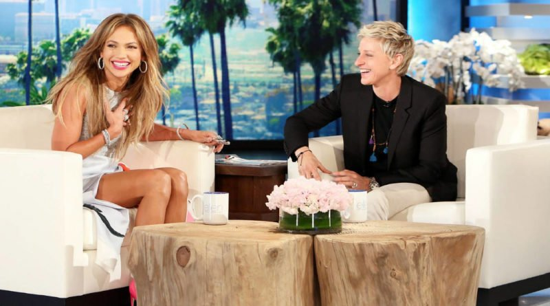 jennifer lopez on ellen degeneres show
