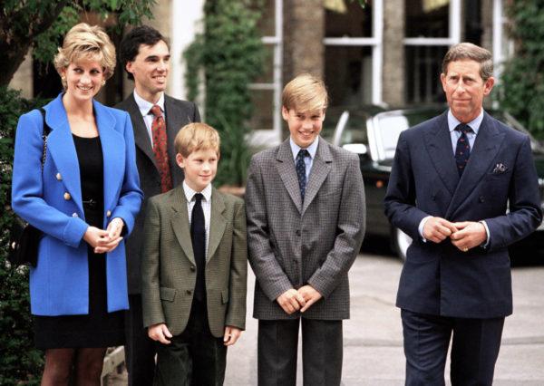 princess Diana and her boys