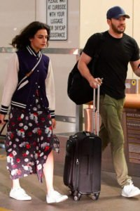Chris Evans and Jenny Slate