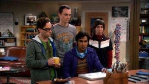 The Big Bang Theory male stars