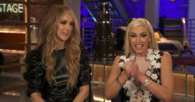 Celine Dion and Gwen Stefani