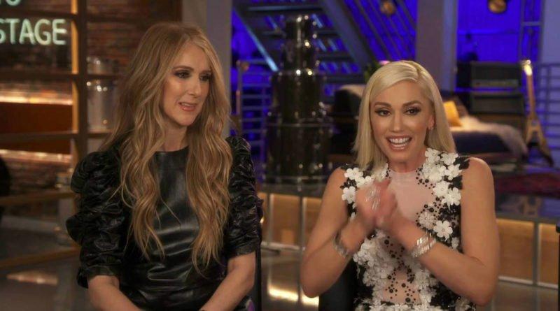 Celine Dion and Gwen Stefani