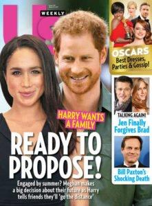 The magazine Us Weekly