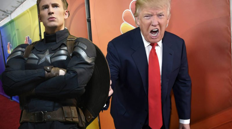 Chris Evans slams Donald Trump! AGAIN!