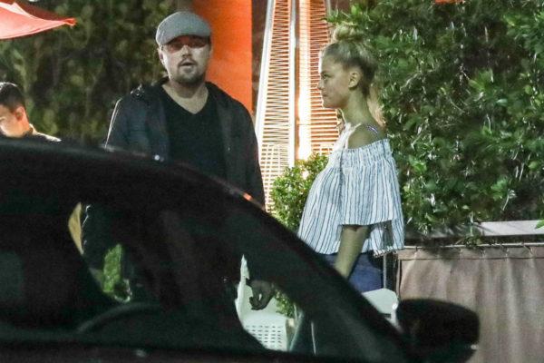 Leonardo DiCaprio and Nina Agdal