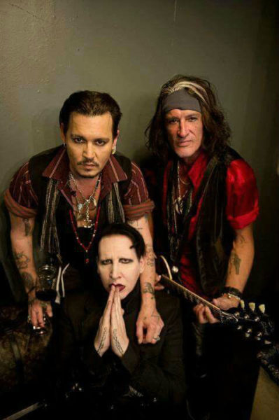 Johny Depp - Hollywood Vampires