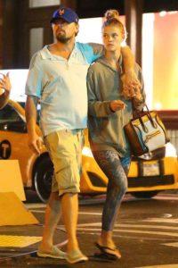 DiCaprio and model Nina Agdal