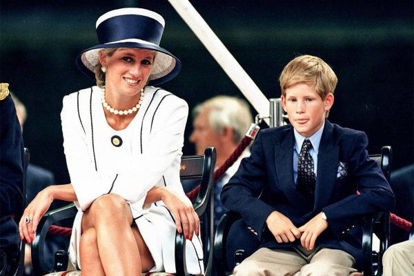 Prince Harry and m Lady Diana