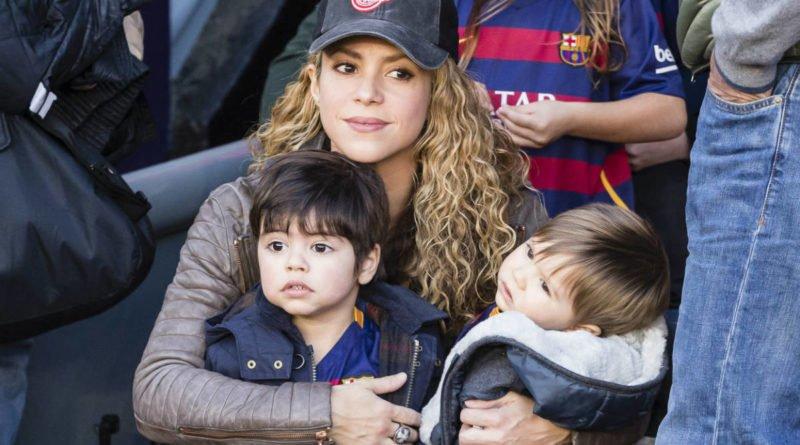 Shakira and her Kids
