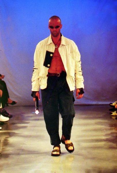 Jason Statham modeling