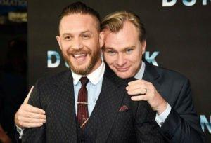 Christopher Nolan and Tom Hardy