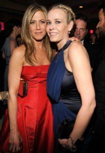 Jennifer Aniston And Chelsea Handler's