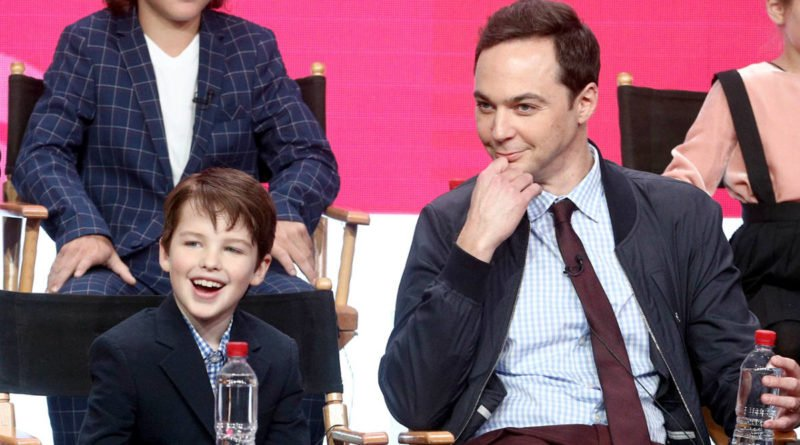 Jim Parsons and young sheldon