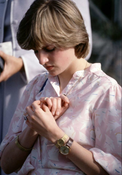 Princess Diana Wore Two Watches