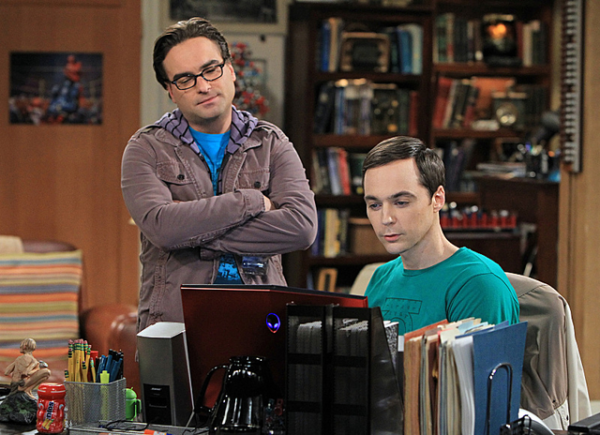 Big Bang Sheldon and Leonard