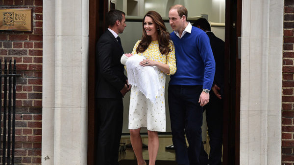 Kate Middleton Prince William and  Princes Charlotte