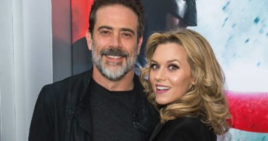 Jffrey Dean Morgan and Hilarie Burton