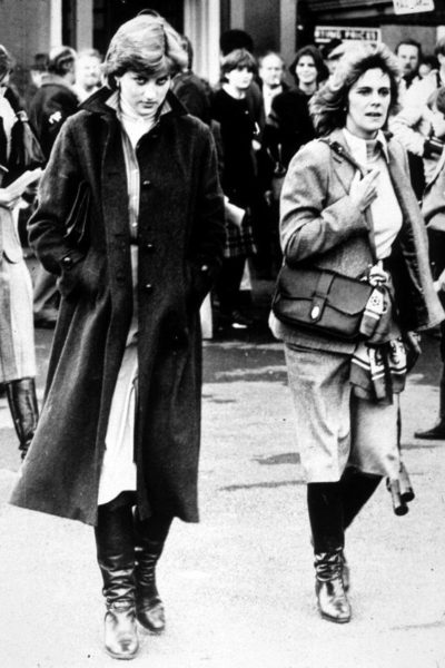Lady Diana Spencer and Camilla Parker-Bowles