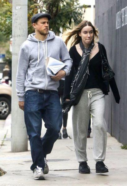 Charlie Hunnam and Morgana McNelis