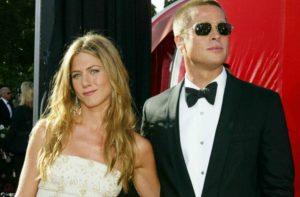 Brad and Jen