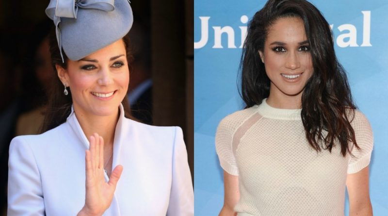the royal family kate and markle
