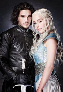 jon snow and daenerys Game of Thrones
