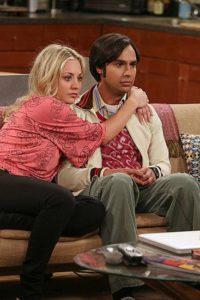 Penny and Raj Big Bang Theory