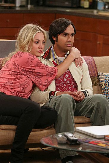 Penny and Raj Big Bang Theory